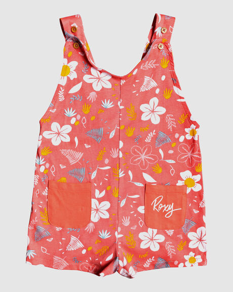 FRUITY SHAKE - DUNGAREE PLAYSUIT