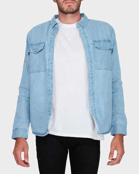 ATLAS DENIM LS SHIRT