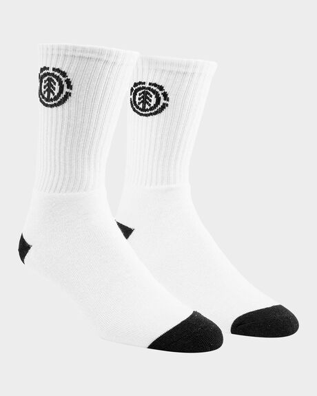 ELEMENT SPORTS SOCK WHITE