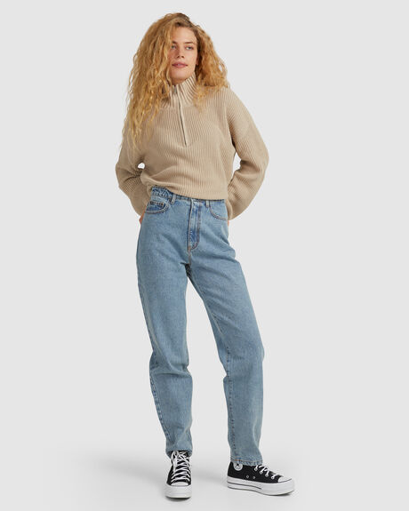 HIGH WAISTED BAGGY PANT - THD