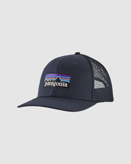 MENS P-6 LOGO TRUCKER HAT NAVY