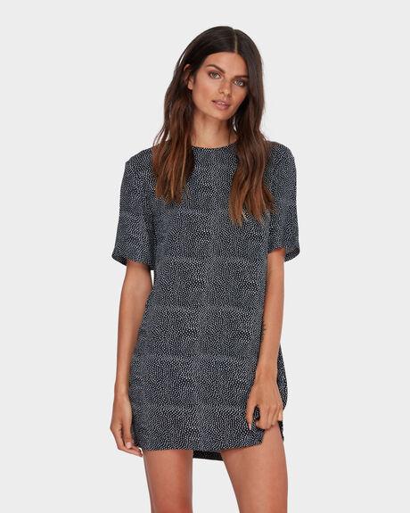 MASHA DOT SHIFT DRESS