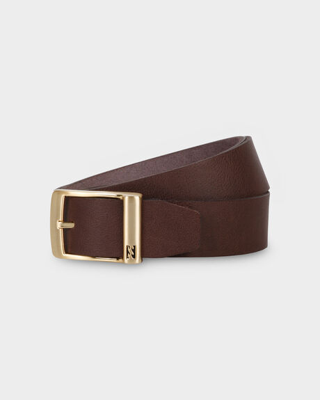 RADIUS LEATHER BELT