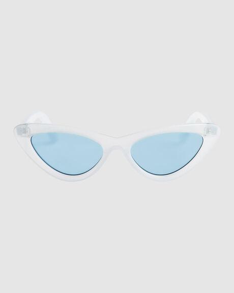 MOONROCK SHINY CRYSTAL BLUE SUNGLASSES