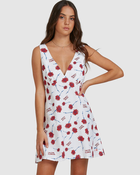 TALKING FLOWERS DRESS