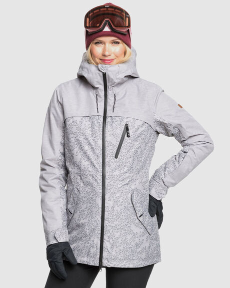 WOMENS STATED PARKA SNOW JACKET