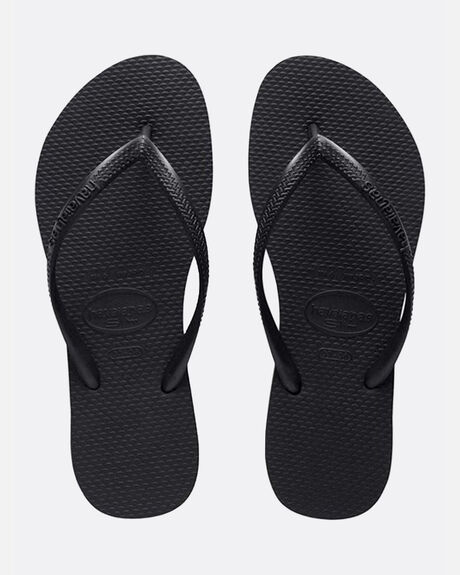 HAVAIANAS SLIM BASIC BLACK THONG