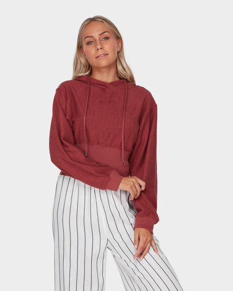 LUANA HOODED PULLOVER JUMPER