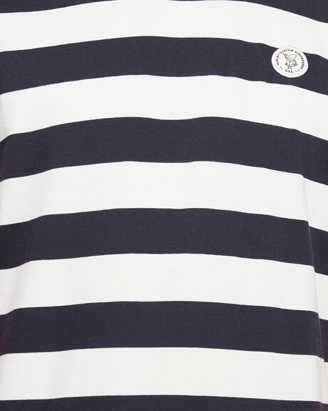 CUSTOM STRIPED TOP  TEE