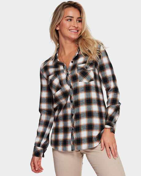 GETTING RAD PLAID LONG SLEEVE SHIRT