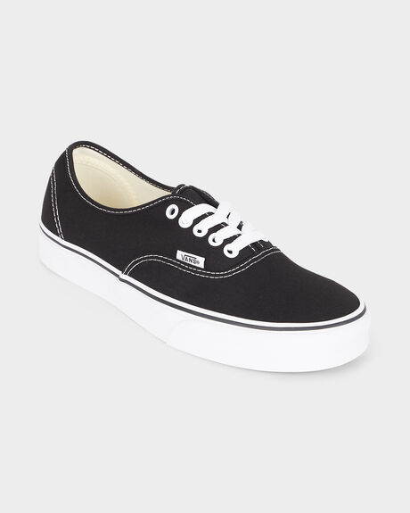 AUTHENTIC VANS BLACK/WHITE SHOE