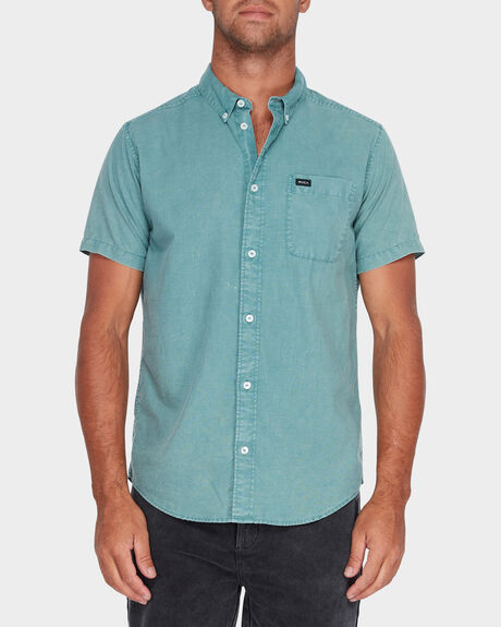 THAT'LL DO WASHED SHORT SLEEVE SHIRT