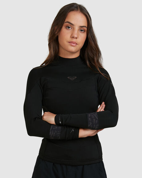 WOMENS 1MM SYNCRO LONG SLEEVE WETSUIT TOP