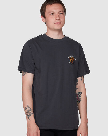 PRIMAL MERCH FIT TEE - VINTAGE BLACK
