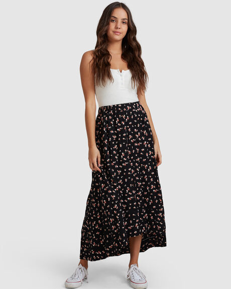 WOMENS BASIC BEACH MAXI SKIRT