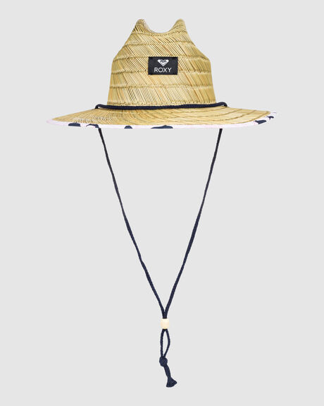 GIRLS TOMBOY STRAW LIFEGUARD HAT