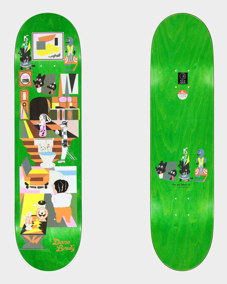 DANE BRADY HYPERGAMY SKATEBOARD DECK