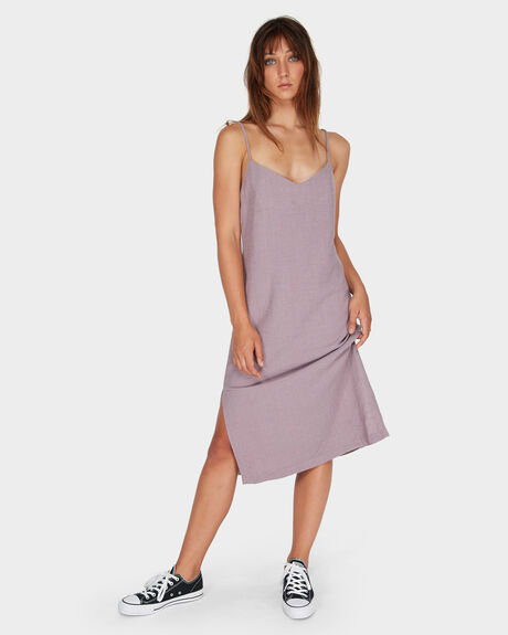 LACED SLIP DRESS