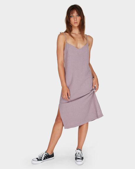 LACED SLIP DRESS