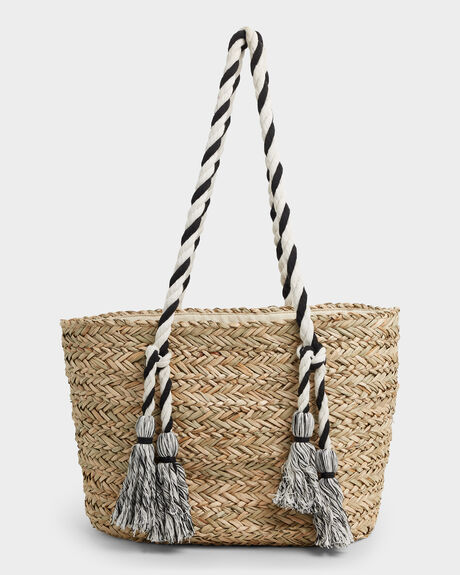 ISLAND TIME STRAW BAG