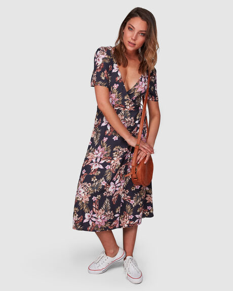 EASY LOVE MIDI DRESS
