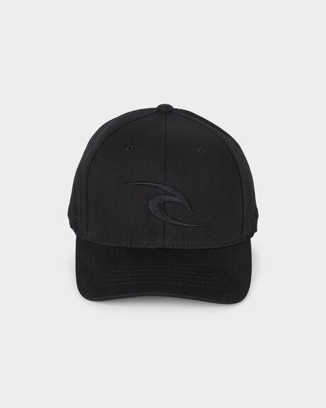 02ec2bee529 Black TEPAN CURVE PEAK CAP
