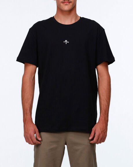 Centered Palm Logo Tee