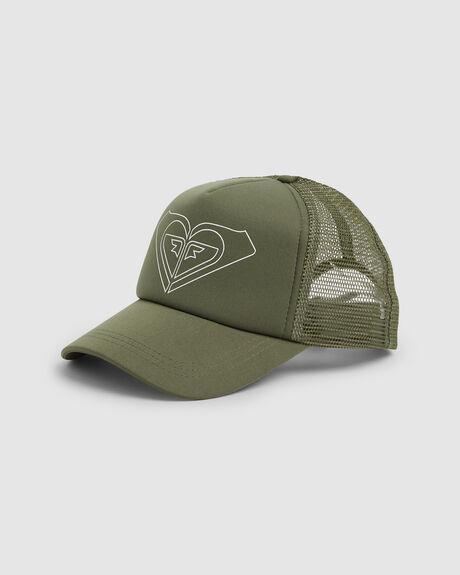 ecd5069a016 ROXY TRUCKIN COLOR TRUCKER CAP