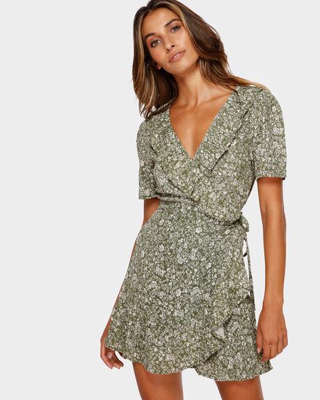 GARDENIA WRAP DRESS