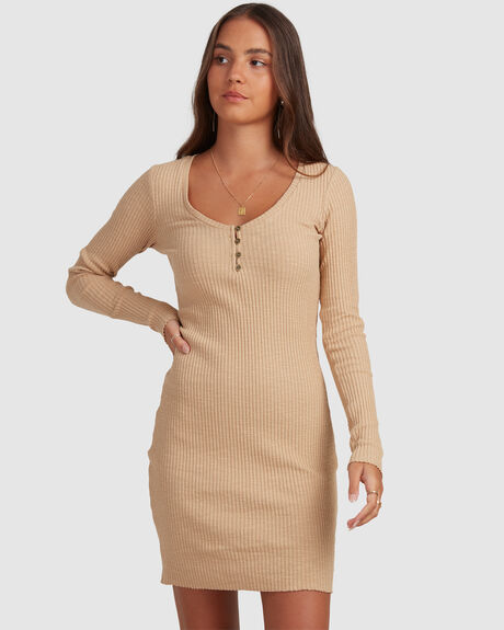 STAPLE LS DRESS