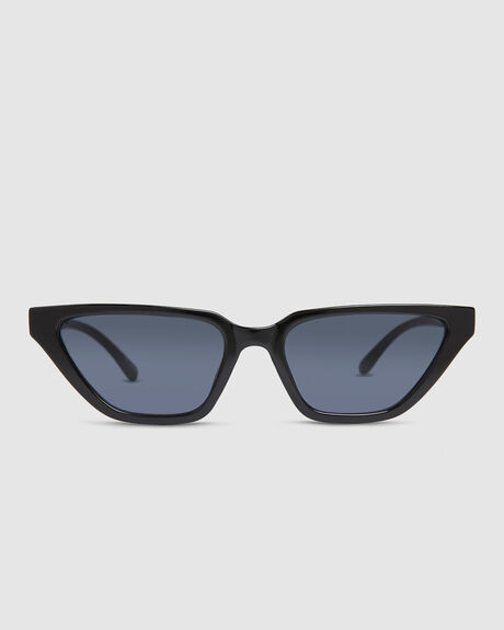 OFF BEAT BLACK SUNGLASSES