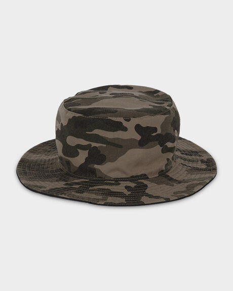 CAMO REVO BUCKET HAT