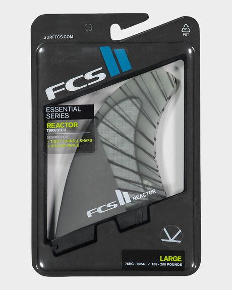 FCS II REACTOR PC CARBON TRI FINS