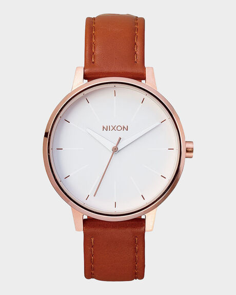 THE KESINGTON LEATHER WATCH