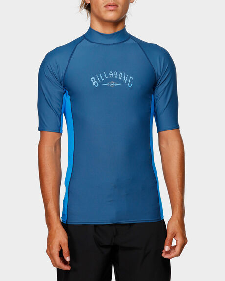 DIAMOND PF SIDEPANEL SHORT SLEEVE RASH VEST