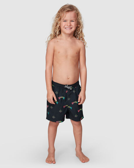 GROMS ISLAND LAYBACK BOARDSHORTS