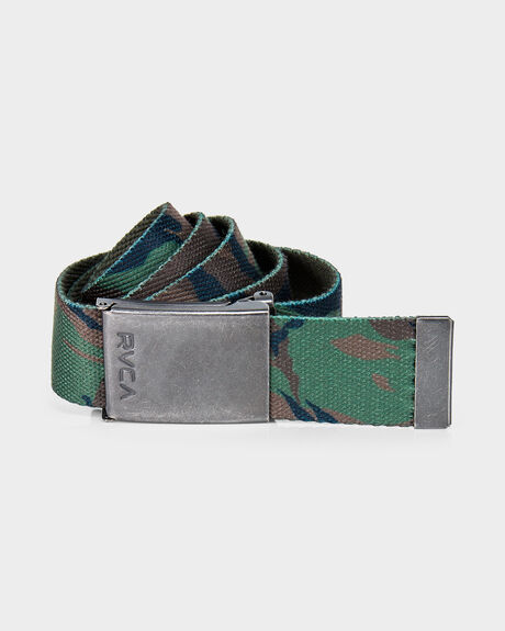BLOCK PRINT WEB BELT