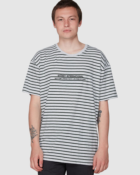 BAY YD STRIPE SHORT SLEEVE TEE