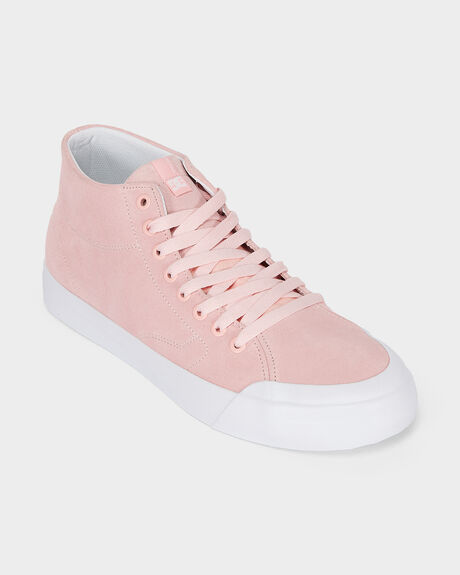 DC EVAN SMITH HIGH ZERO LIGHT PINK SHOE