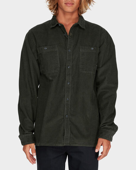 WAVED WASHED CORD SHIRT