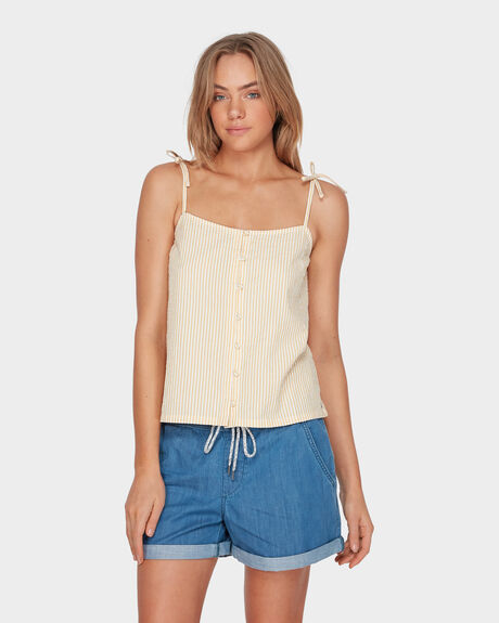 BALI ITINERARY STRAPPY CAMI TOP