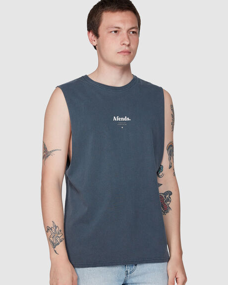 DISTORTED  - BANDCUT TEE