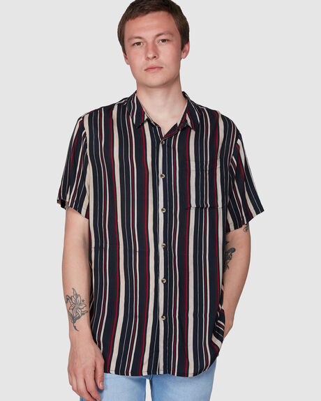 BON MULTI STRIPE SHIRT