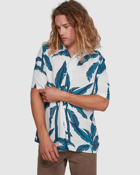 ALOHA BLUES HAWAIIAN SHIRT
