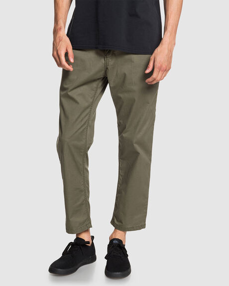 FATIGUE - HIGH WATER FIT ELASTICATED TROUSERS