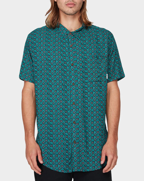 VAN RAYON SHORT SLEEVE SHIRT