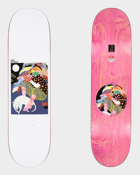 NICK BOSERIO MIDNIGHT JAM SKATEBOARD DECK