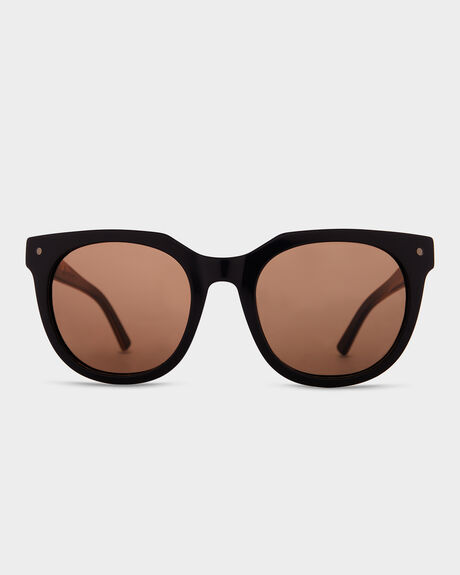 WOOSTER BLACKWOOD SATIN BRONZE SUNGLASSES