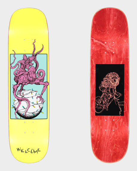 DEMON PRINCE 2 ON AMULET SKATEBOARD DECK