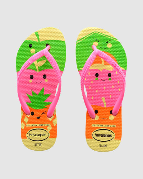 KIDS SLIM FUN POLLEN THONGS